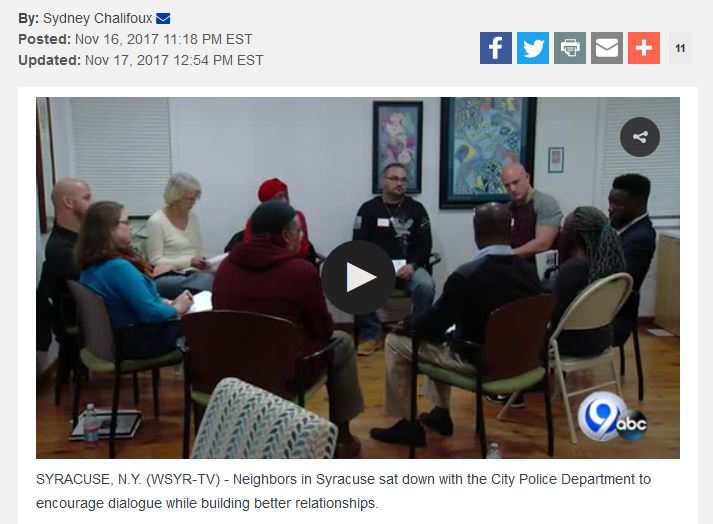 News Channel 9 Wsyr Interfaith Works Of Central New York